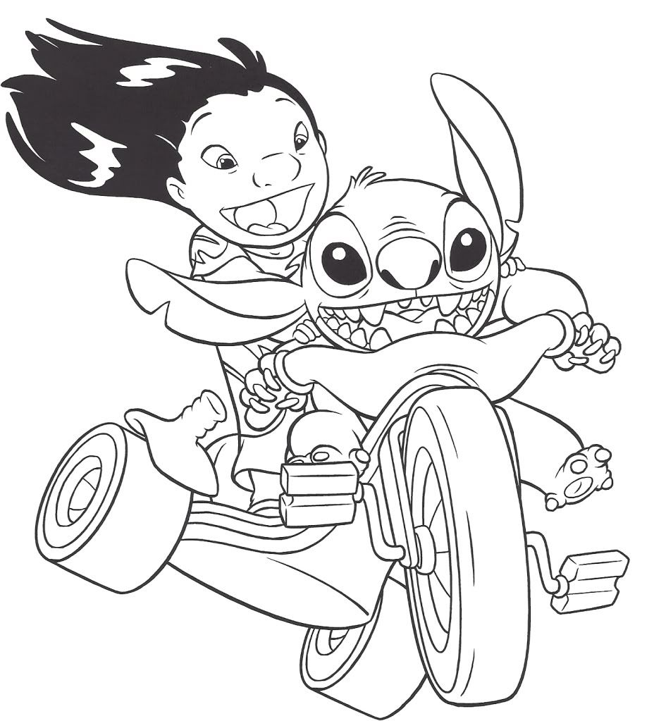 Lilo And Stitch Coloring Pages Printable Coloring Pages