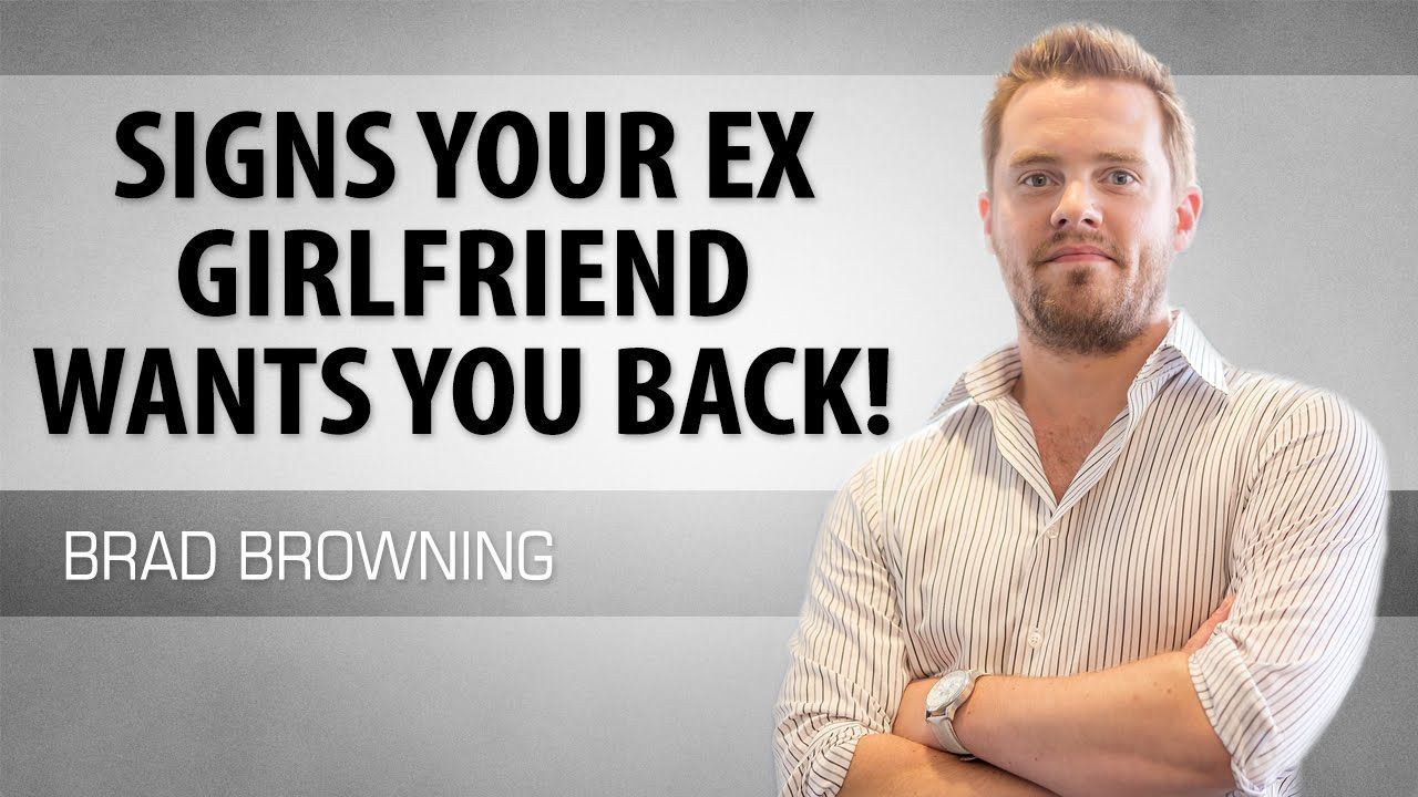 """""""Signs Your Ex Girlfriend Wants You Back!"""" https//www"""