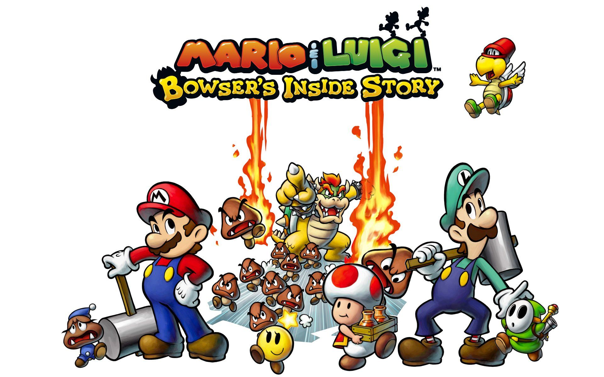 Nintendo Mario And Luigi Bowser S Inside Story In His Evil
