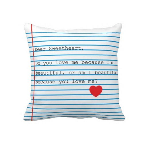 Dear Sweetheart Pillow