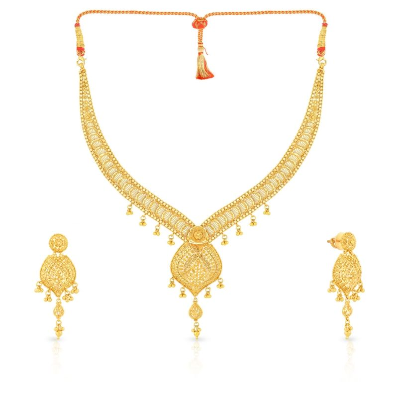 Malabar Gold Necklace Set Mhaaaadffkaw Gold Necklace Set Gold Necklace Gold Necklace Women