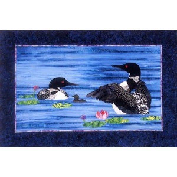 Bee Creative Studio Loon Dance Quilt Pattern | Loons | Pinterest ... : loon quilt pattern - Adamdwight.com