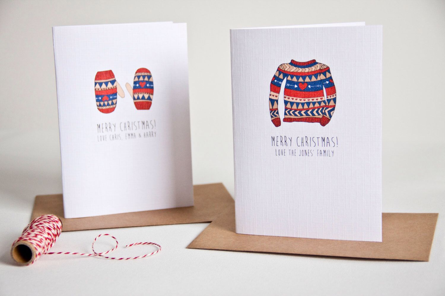 Personalised christmas card pack, Christmas cards, personalized ...