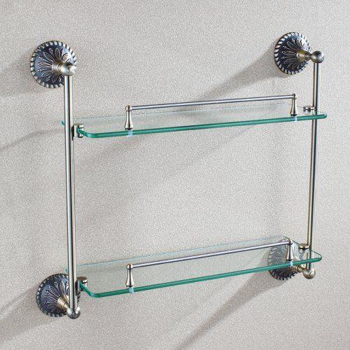 Pin by Angle Simple on glass bathroom shelf Pinterest Glass