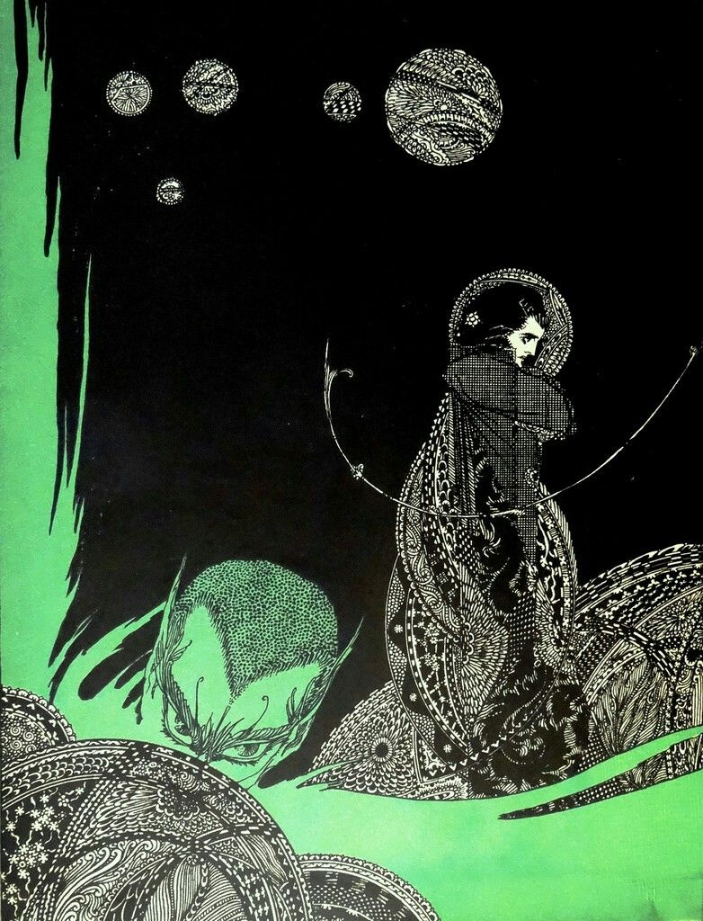 harry clarke illustrations for goethe s faust prints drawings goethe s faust harry clarke
