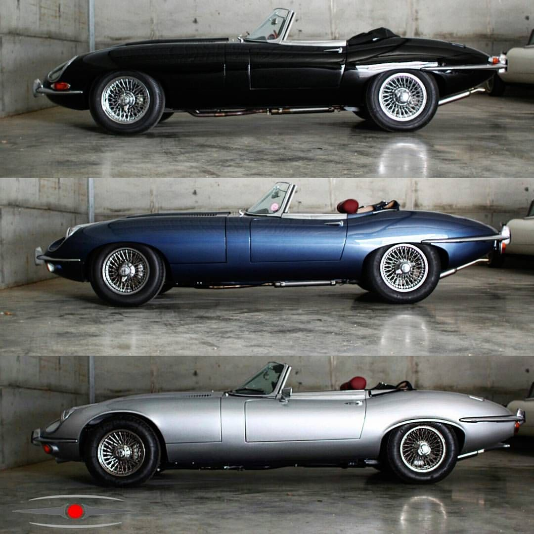The Evolution Of That Iconic E Type Profile Series 1 2 And 3 Ots
