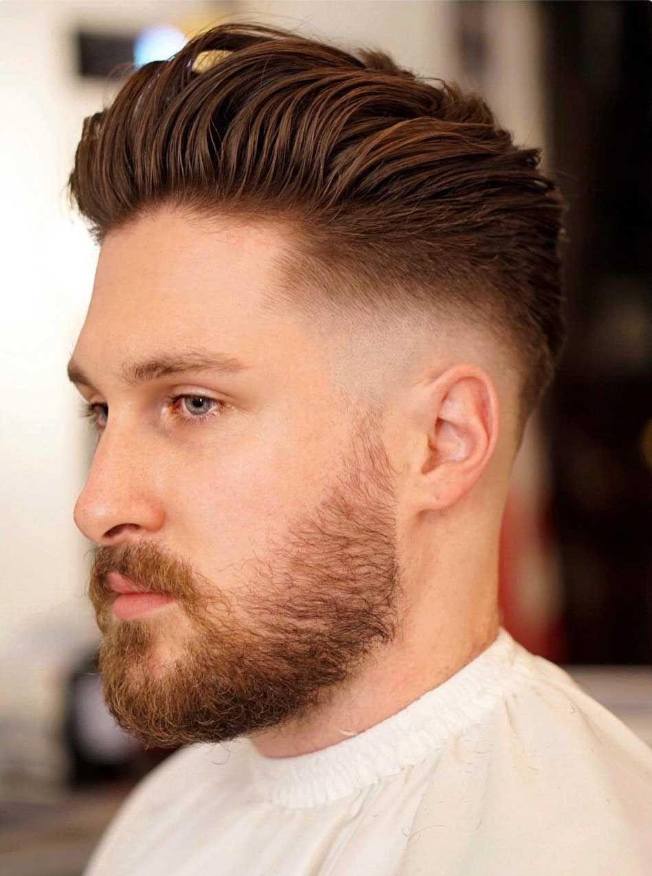Kahl Verblassen Frisuren: Was Sie Sind Und Wie Man Einen Bekommt