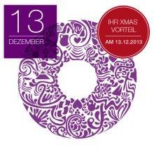 Jetzt vormerken: Am 13. Dezember das 13. Türchen öffnen und ganz besondere Rabatte auf Designer Taschen sichern.