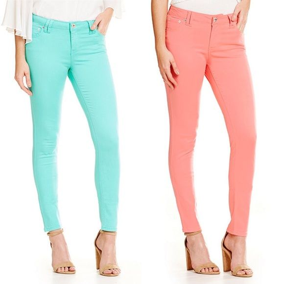 Celebrity Pink Skinny Jeans Brand new without tags! Size 1. Super cute for spring!! Celebrity Pink Jeans Skinny