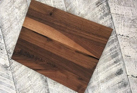 Mixed Wood Cutting Board Exotic Woods Unique By SodaCreek