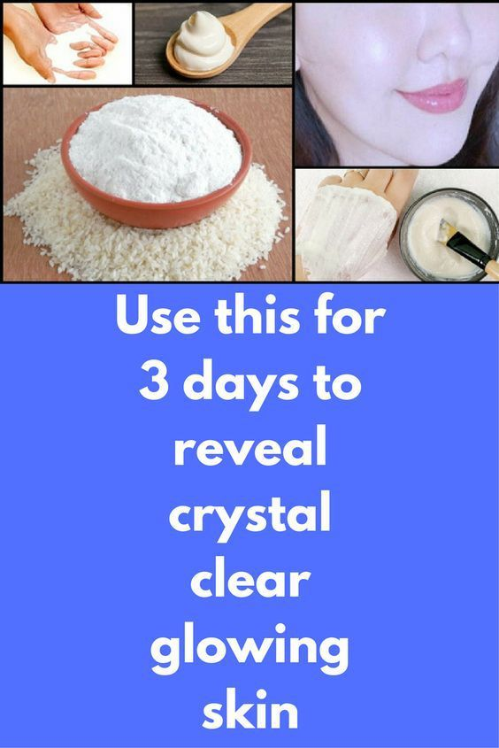Use This For 3 Days To Reveal Crystal Clear Glowing Skin.  #lifestyle  #fitness