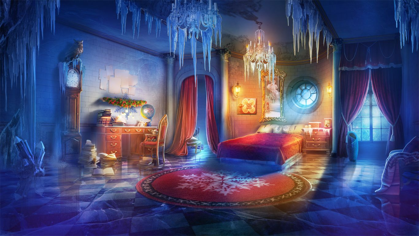 Dailymagic Hopa Christmas Anime Background Fantasy Rooms Anime Scenery The top fantasy rooms