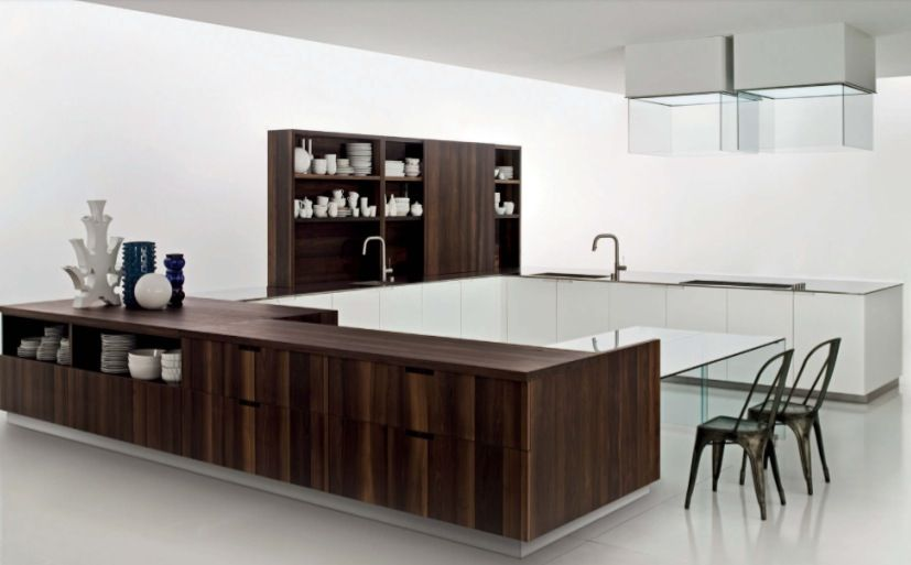 Mobili Boffi ~ Boffi love this use a lighter or grey tone wood baker street