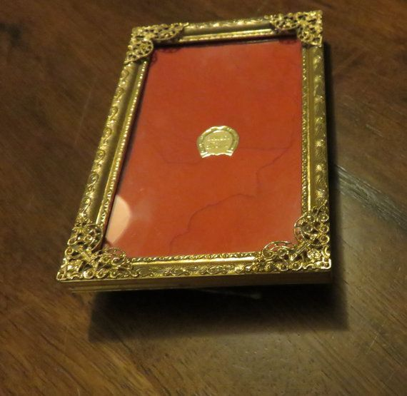 Danish Ornate Gold 3 X 5 Picture Frame Made In Denmark Gold Photo