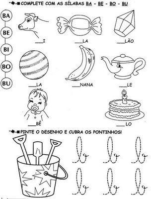 Exercícios e desenhos para colorir * (Ver-milhares-de-atividades ...