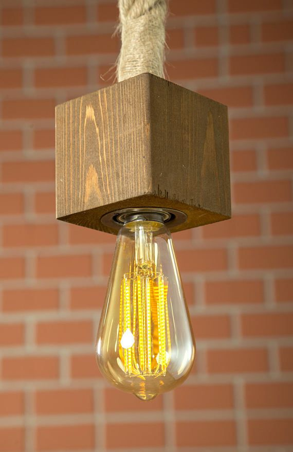 pendant lighting with rope # 67