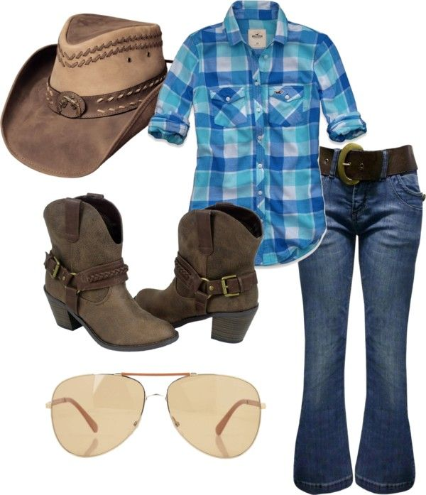 """""""Cowgirl"""" by seversonheather ❤ liked on Polyvore"""