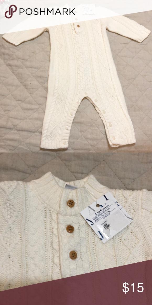 Cable Knit Sweater Onesie Janie Jack My Posh Closet Pinterest