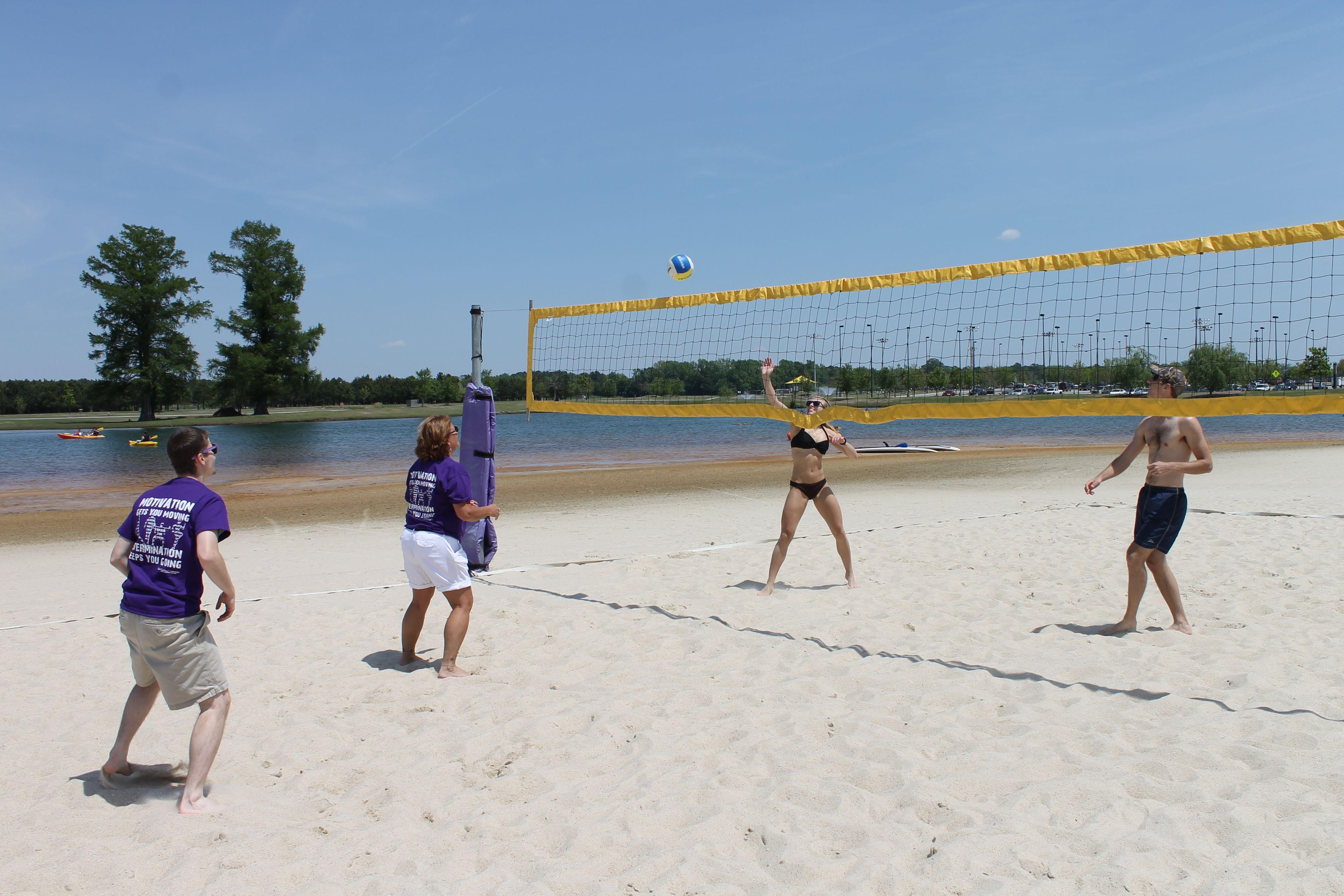 ECU Sand Volleyball Courts Sand volleyball court