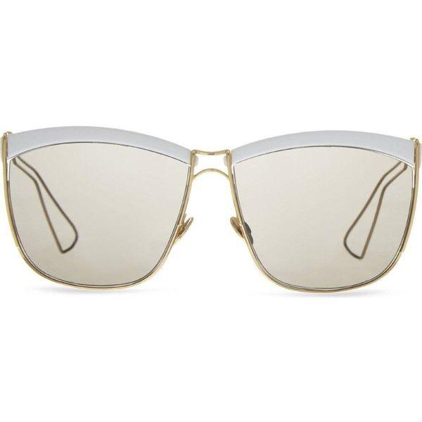 15dbe6881e1a3 DIOR Half-frame sunglasses featuring polyvore