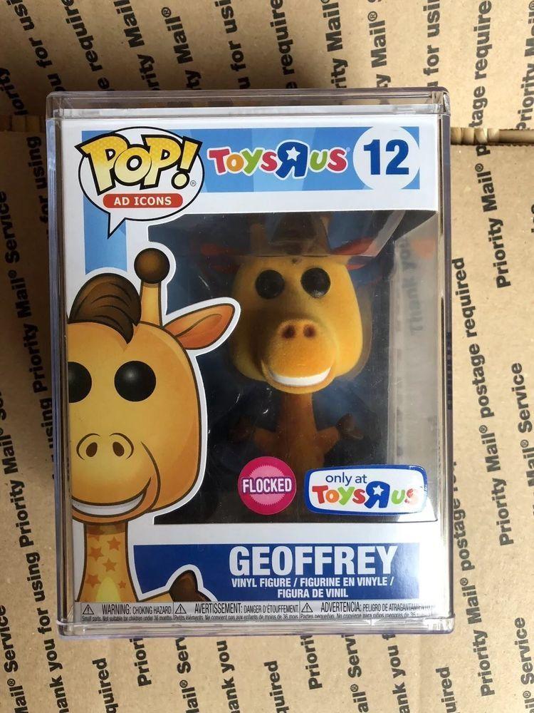 Funko Pop! Ad Icons Flocked Geoffrey Toys R' Us