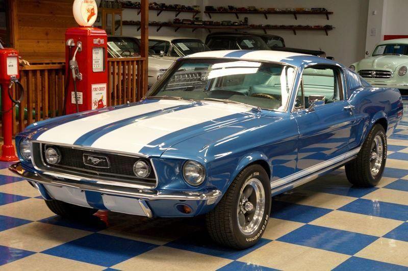 Ford Mustang Fastback 1968 Maintenance Restoration Of Old Vintage