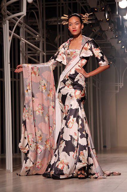 Fashion Studio Magazine: INTERNATIONAL COUTURE FASHION WEEK 2012: Yumi Katsura