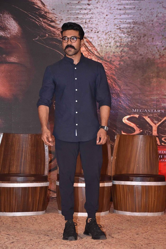 Chiranjeevi S Actor Son Ram Charan Who Is Also Producing The Film