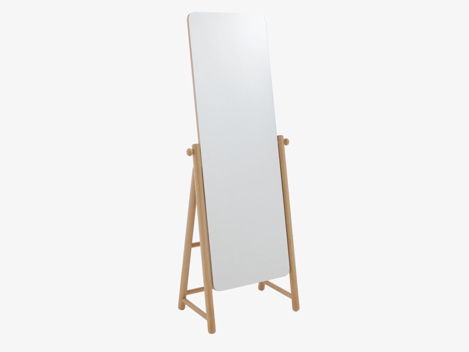 Natural Bedroom Furniture Esme Natural Wood Freestanding Mirror Bedroom Furniture