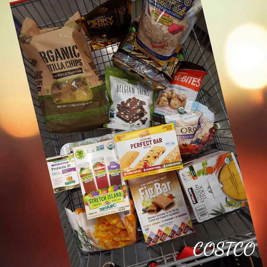 A few of my favorite non perishable items from costco