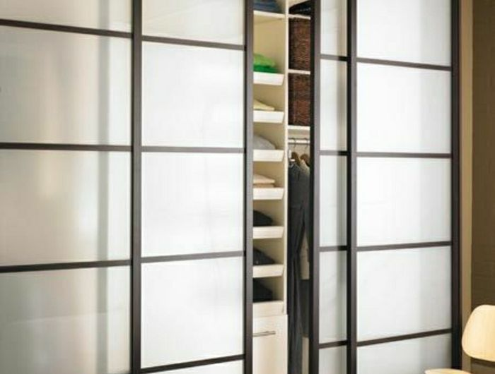 placard moderne porte coulissante