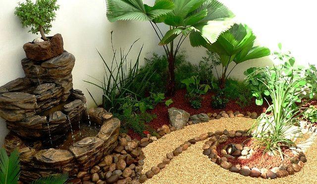 Arreglos adornos y decoraciones para jardines ideas for Jardines hermosos pequenos