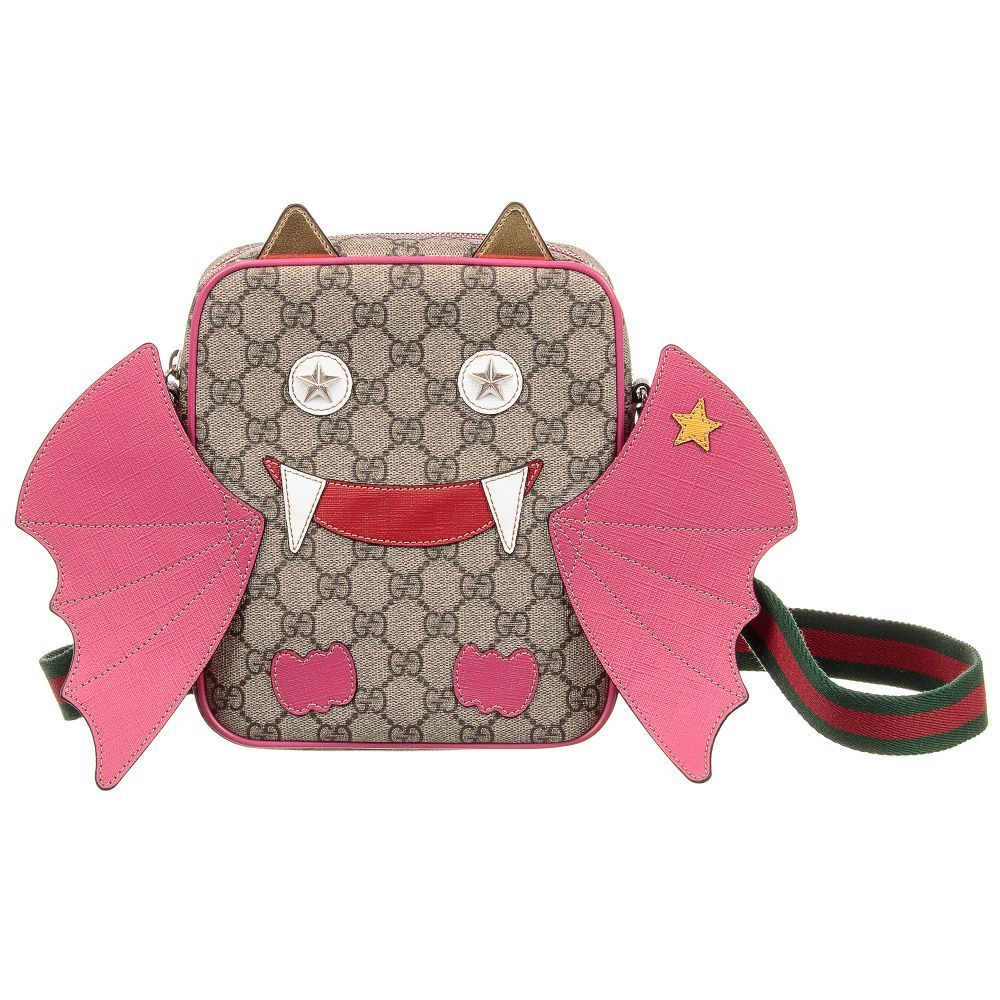 319b042fe31 Bat GG Body Bag (21cm) for Girl by Gucci. Discover more beautiful designer  Bags for kids online
