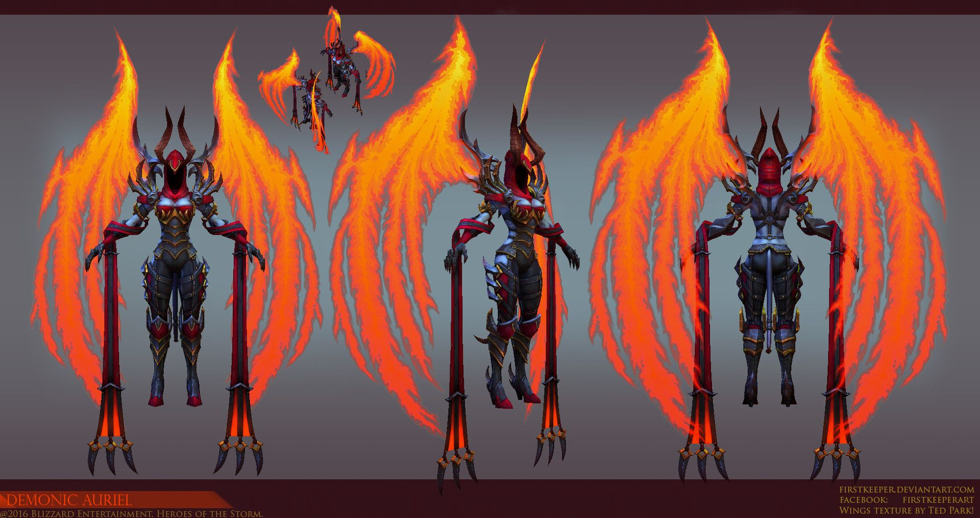 Auriel Support Hero For Heroes Of The Storm I Worked On Demon Diablo Cosplay Archangels Collaborative list created by player votes. auriel support hero for heroes of the