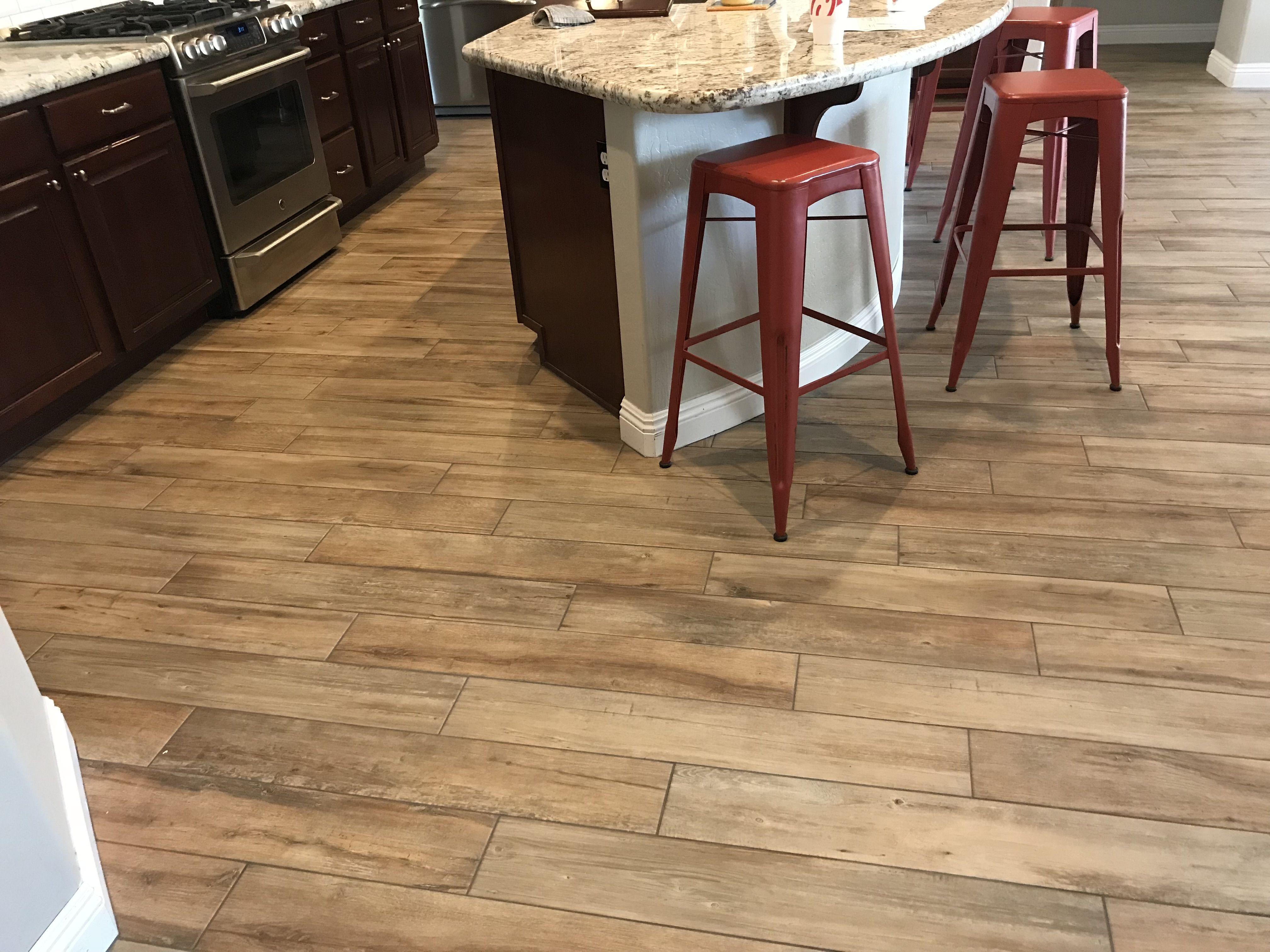 Magnolia Bend Natural Driftwood 6x36 Porcelain Tile Porcelain Tile Woodlooktile Woodtile Woodlook Flooring Wood Look Tile Flooring Contractor