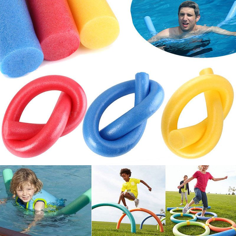 Flexible Summer Swimming Water Swim Aid Pool Noodle Kids Fun Play Foam Float Ev