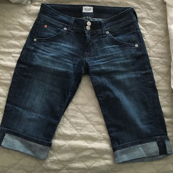 Hudson Bermuda shorts Only worn once- in perfect condition Hudson Jeans Shorts Jean Shorts