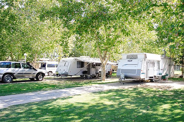 Powered sites at Discovery Parks - Maidens Inn, Moama