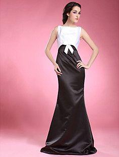 ODILIA - Vestido de Madrina de Satén – USD $ 99.99