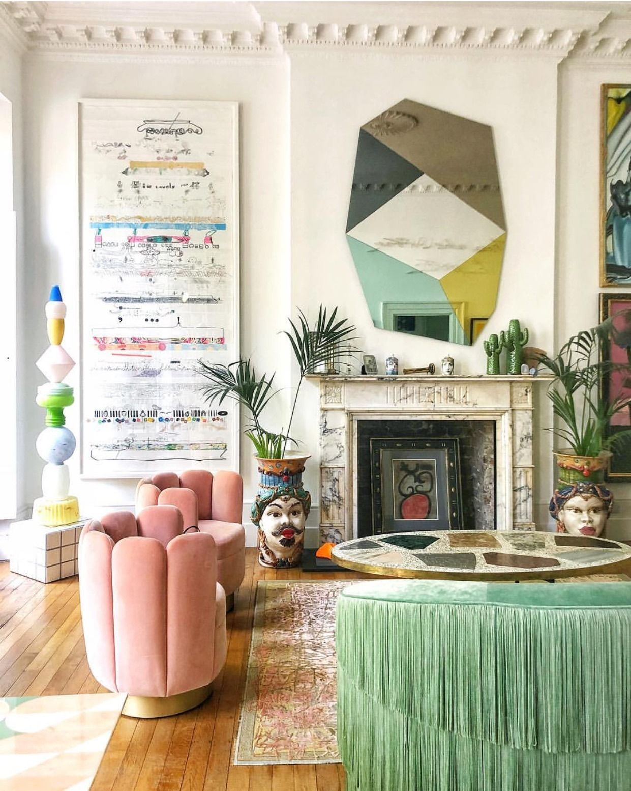 Photo of Get The Look Of This Playful London Living Room – Oh What's This