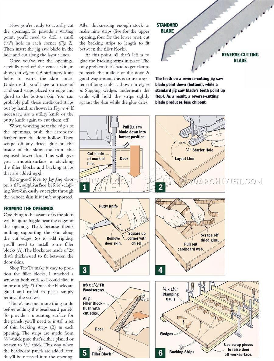 1545 Making Interior Doors Door Construction Techniques