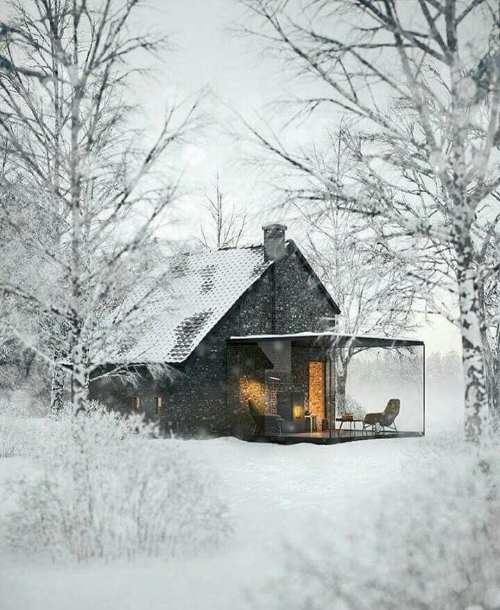 Cozy Winter Home: Not The Snow.....but The Room.