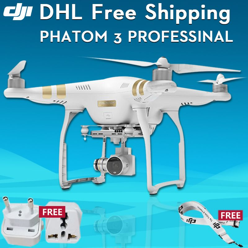 DJI Phantom 3 Professional UAV Quadcopter Drone With Camera Hd 4K UHD Video Aerial Photography Equipment RC Helicopter Price 243 FREE Shipping