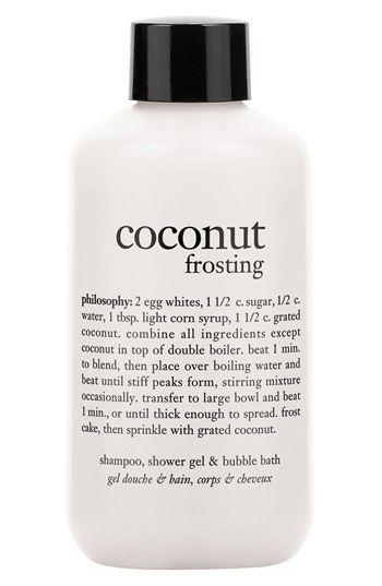 Philosophy Coconut Frosting Shampoo Shower Gel Bubble Bath