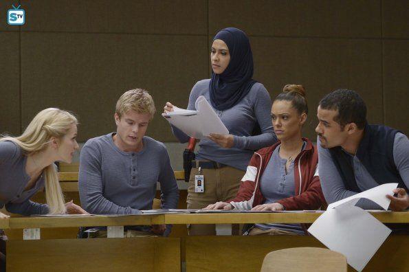Quantico 1x09 Guilty Shelby Caleb Nimah Natalie And Brandon