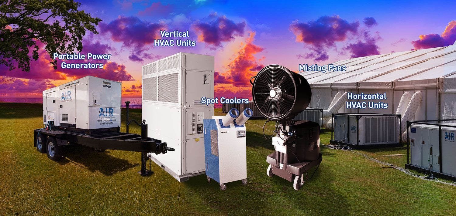 Top 4 Event Air Conditioning Rentals Air conditioning