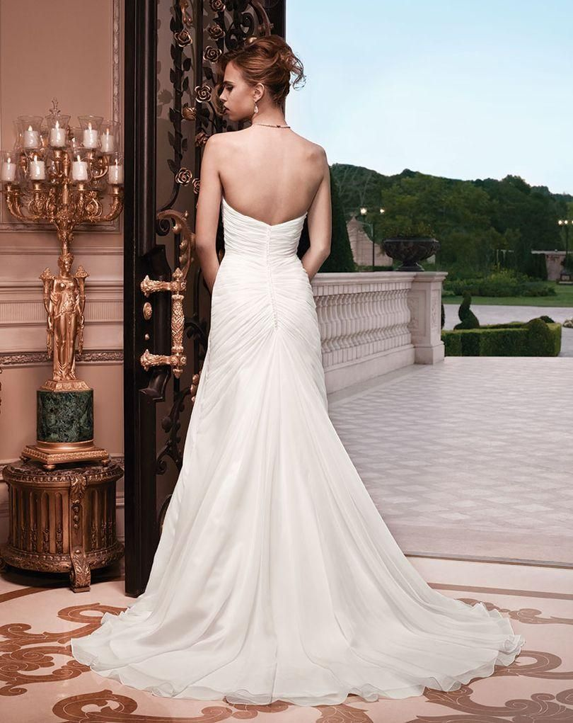 Casablanca Baby Doll Wedding Gown Style 2134 Glamourous