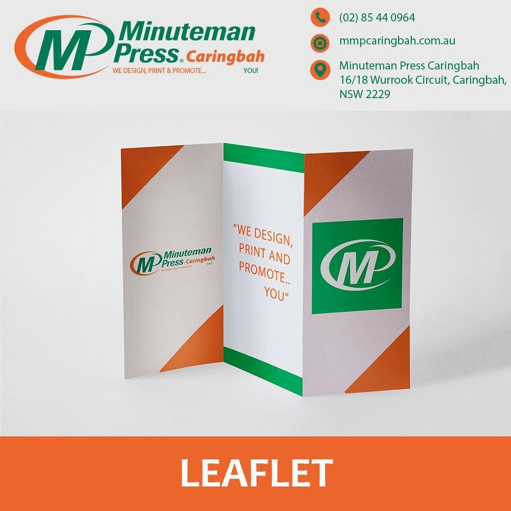 Leaflet Flyer Brochure Mmpcaringbah Leaflet Printing Printing Business Cards Flyer Printing