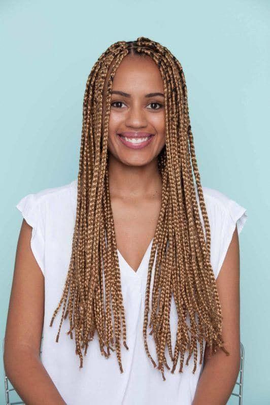 Image result for blonde box braids #smallboxbraids #longboxbraids