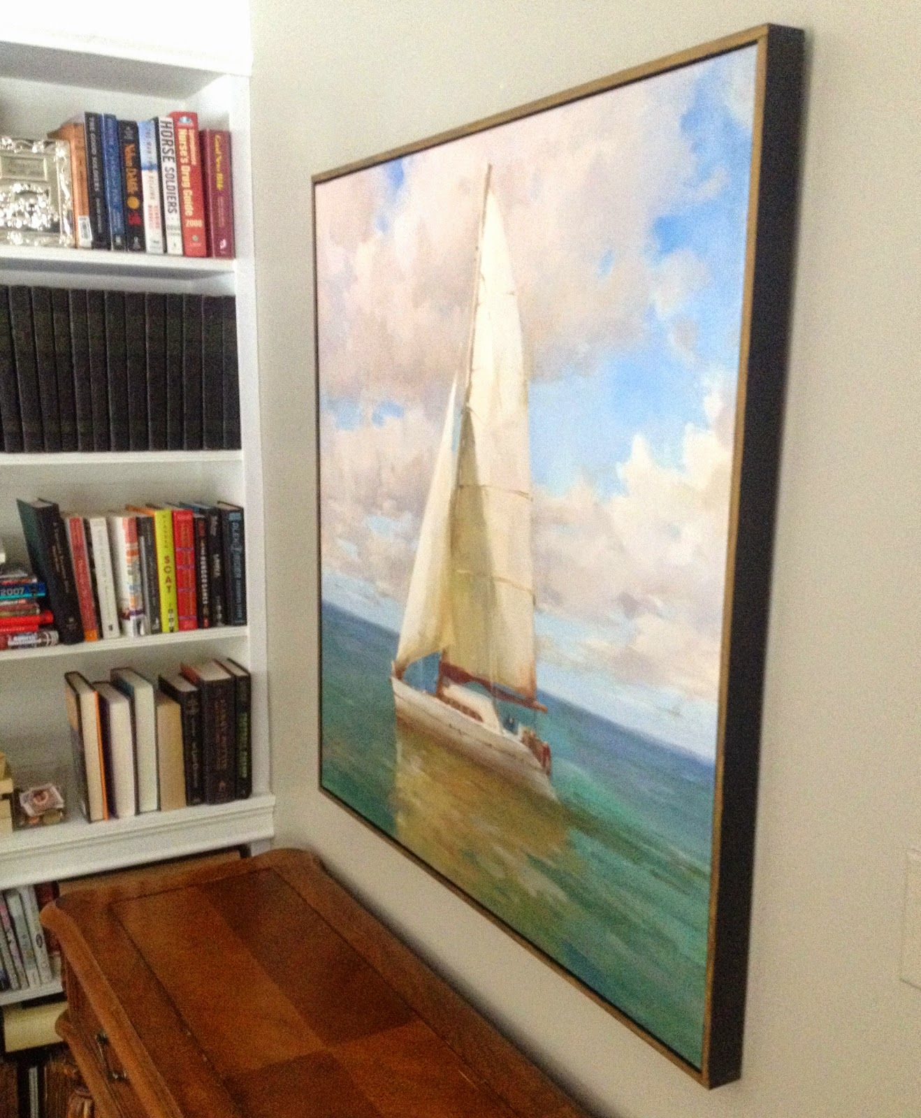 How To Change The Finish And Frame A Canvas Print